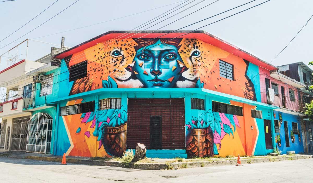 ciudad mural colectivo tomate