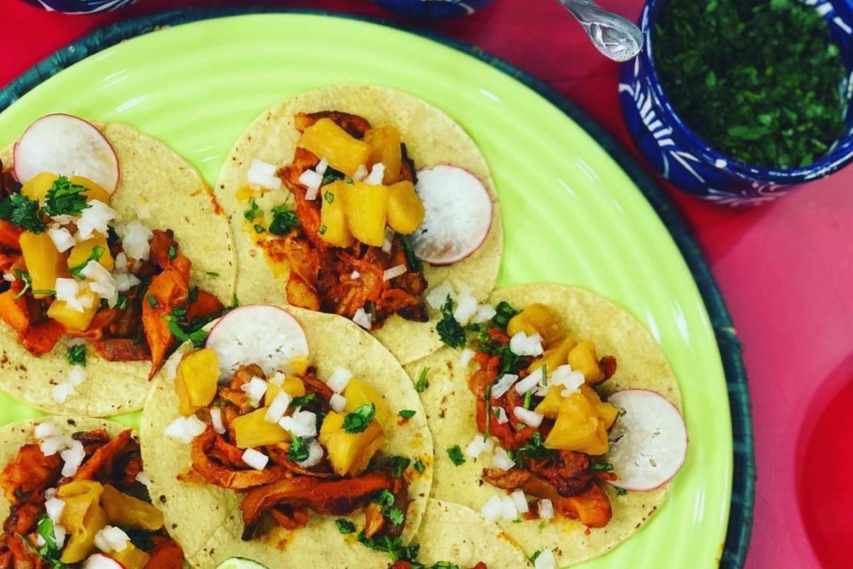 Tacos veganos para el Día de la Independencia